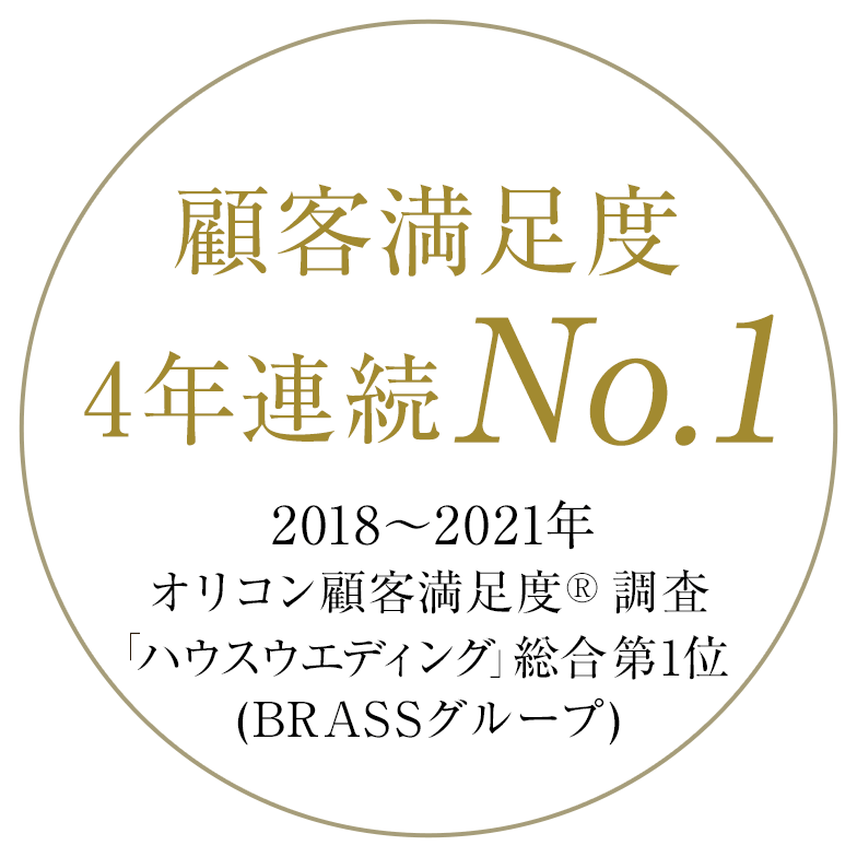 オリコン顧客満足度 4年連続 No.1